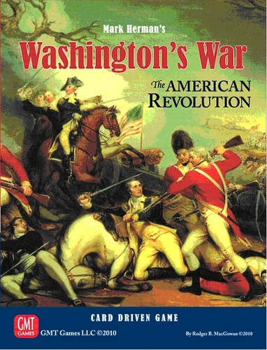 Washington's War Box Cover