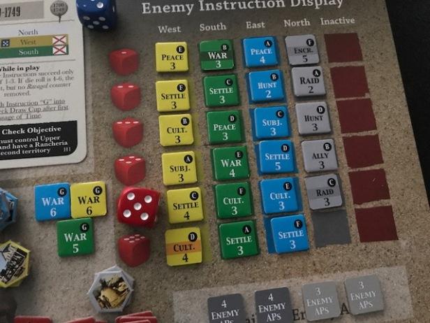 Comancheria AI Enemy Instruction Display