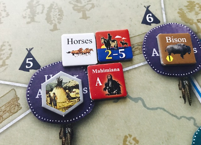 Comancheria The Rise And Fall Of The Comanche Empire From Gmt Games Action Point 1 The Players Aid