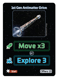 SpaceCorp Movement Card