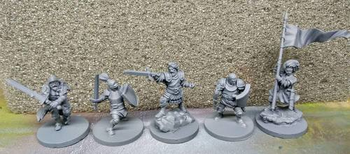 Time of Legends Joan of Arc Minis
