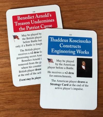 Washington's War Battle Cards