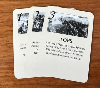 Washington's War OPS Cards