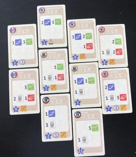 Yokohama Order Cards