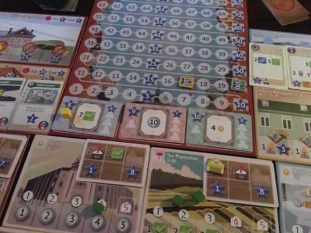 Yokohama Score Board