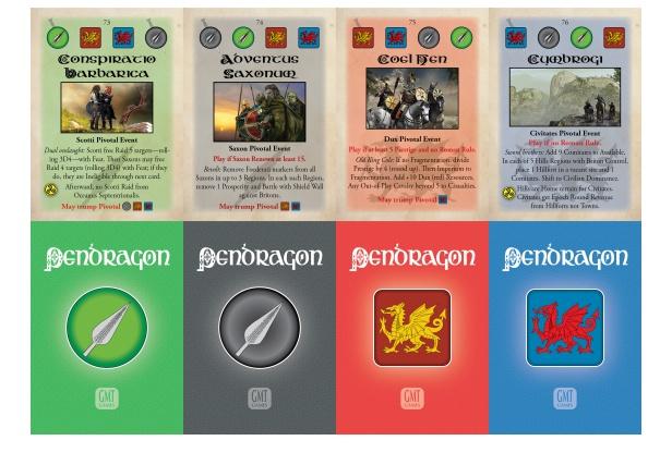 Pendragon Event Cards