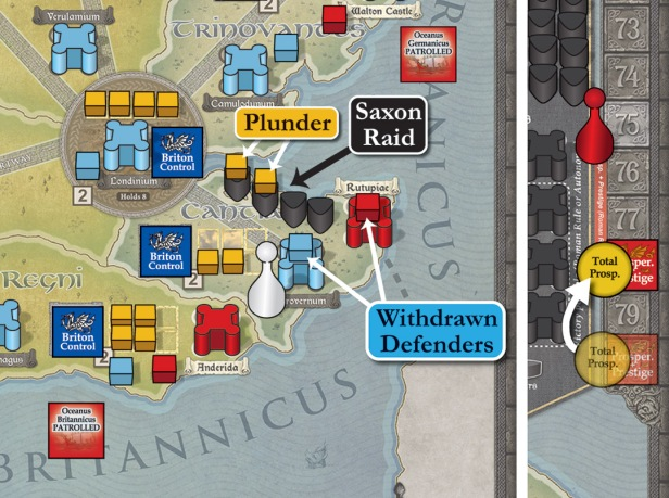 Pendragon Saxon Raid Example from Playbook