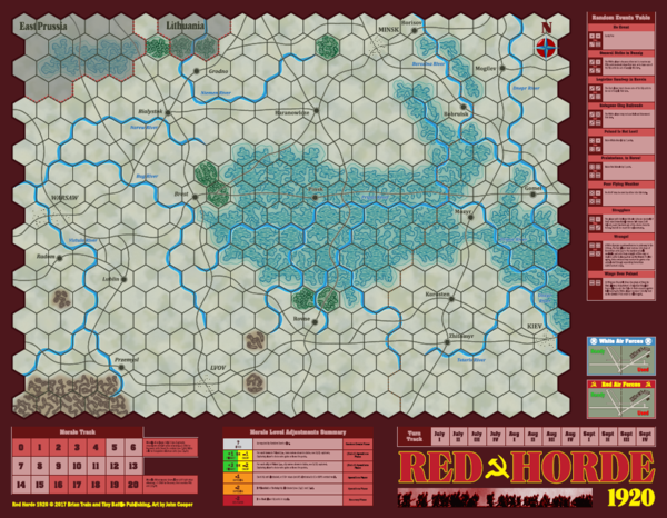Red Horde 1920 Map