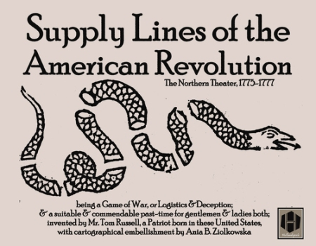 Supply Lines of the American Revolution Cover