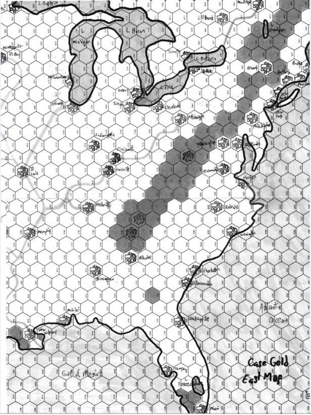 Case Geld East Map