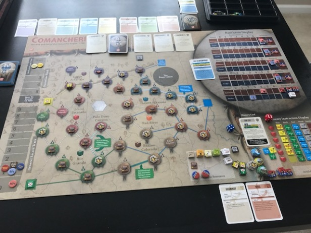 Comancheria Board Overview