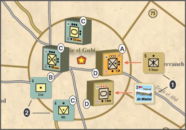 FAB Crusader Combat Example