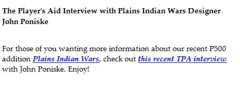 GMT Plains Indian Wars pic