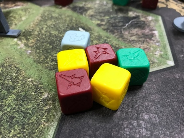 Joan of Arc Custom Dice