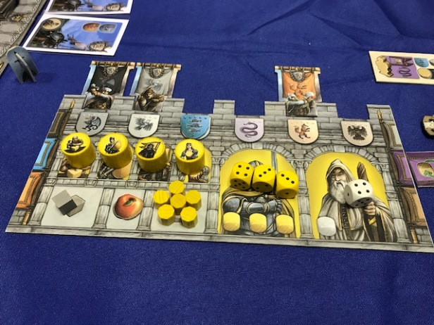 Merlin Player Board