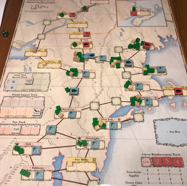 Supply Lines of the American Revolution 1