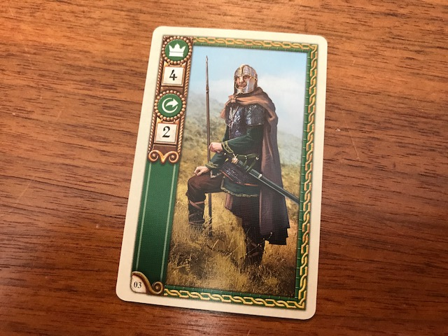 878 Vikings Movement Card