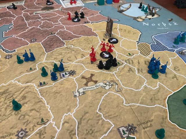 878 Vikings Thegn Led Army