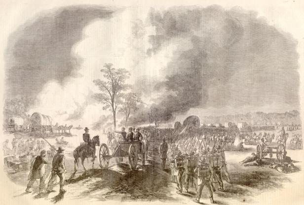 Battle_of_Fair_Oaks_Franklin's_corps_retreating