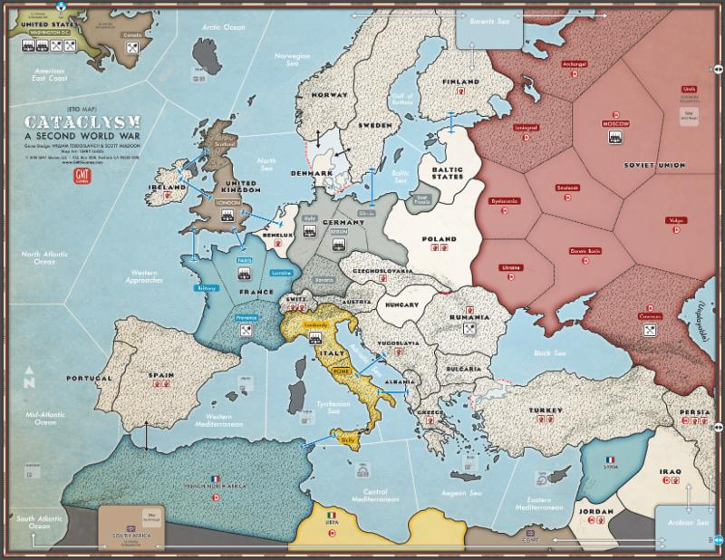 Cataclysm Europe Map