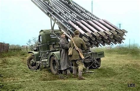 Demyansk Shiled Katyusha Rocket Launcher