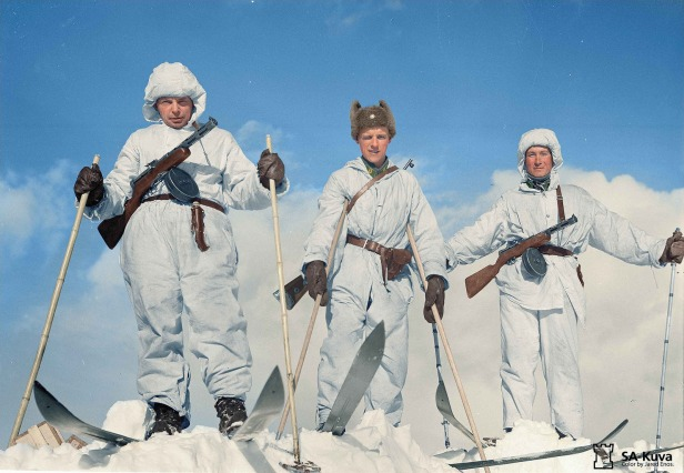 Demyansk Shiled Soviet Ski Troops