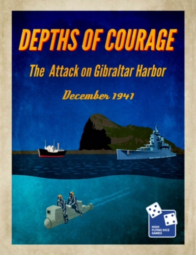 Depths of Courage Vol 7 Cover