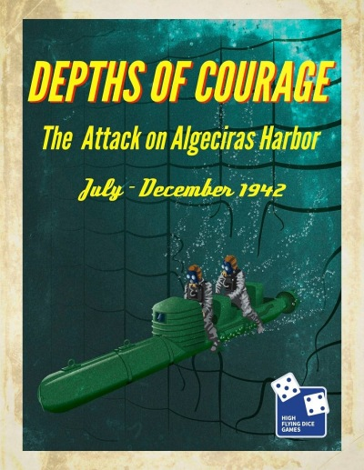Depths of Courage Vol 8 Cover