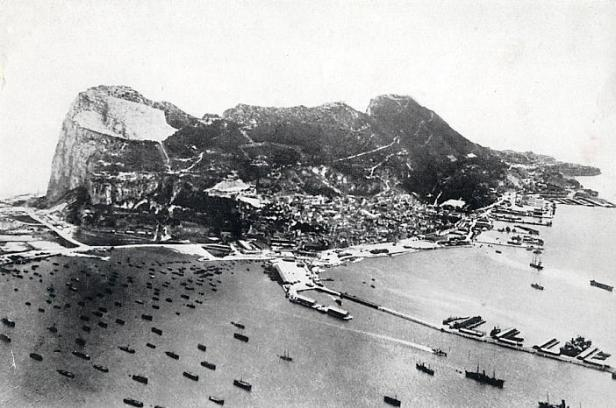Gibraltar Harbor Spring 1941