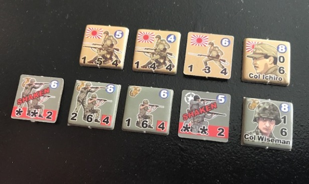 Heroes of the Pacific Counters