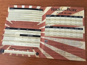 Heroes of the Pacific DFT Player Aid