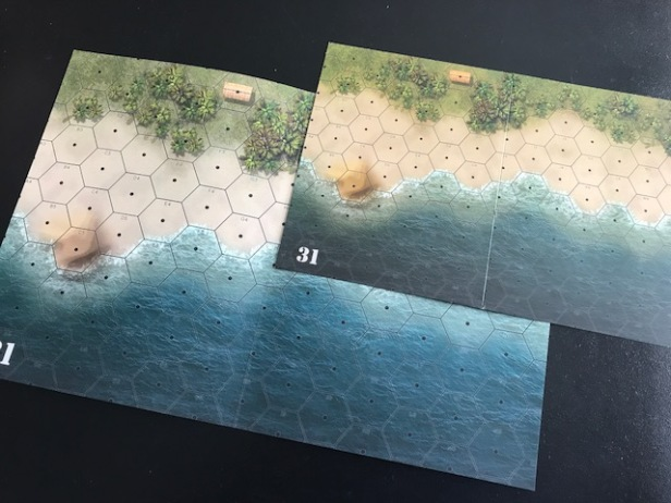 Heroes of the Pacific Map Cards