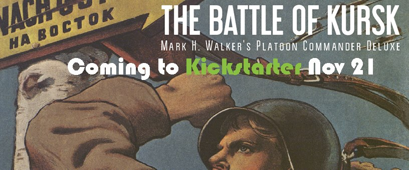 Origins 2018 Game Preview: Platoon Commander Deluxe: Kursk