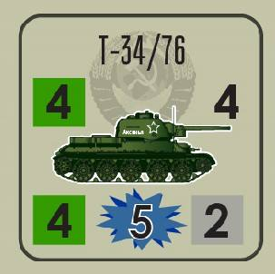 Kursk T-34 Tank Counter