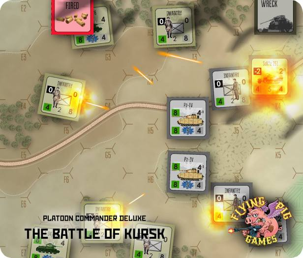 Platoon Commander Kursk Action Shot