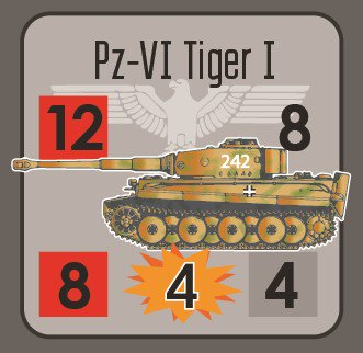 Platoon Commander Kursk Tank Counter 1