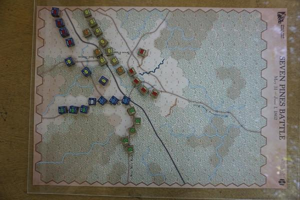 Seven Pines Map
