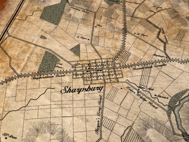 Sharpsburg Map
