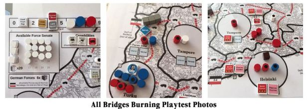 All Bridges Burning Playtest Photos