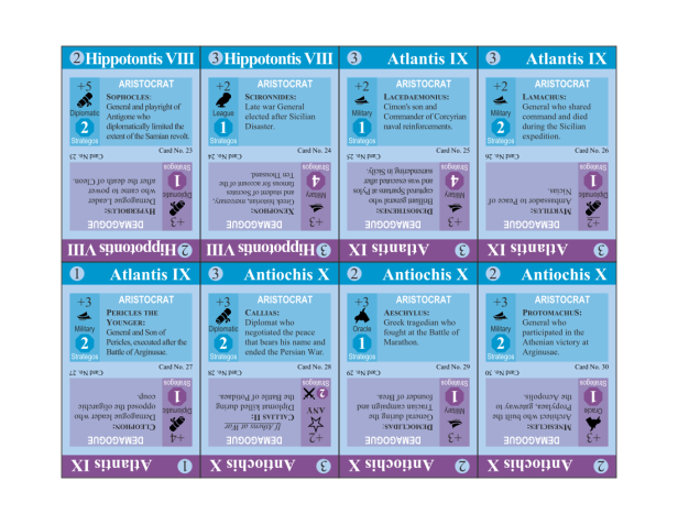 Athens Playtest Cards
