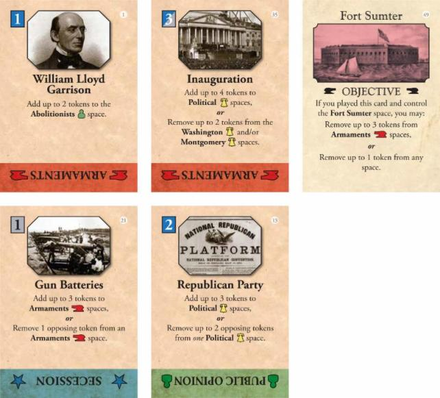 Fort Sumter Cards