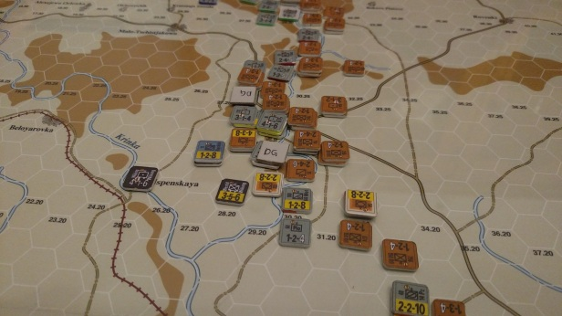 Rostov '41 Playtest - The mess at Kuybyschevo