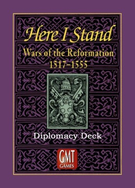 Here I Stand Diplomacy Deck