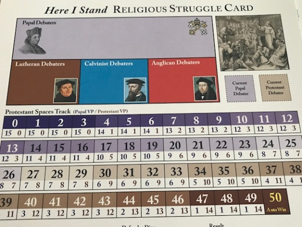 Here I Stand Relgious Struggle Card