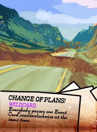 Highways & Byways Event Cards Change of Plans