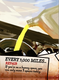 Highways & Byways Event Cards Every 3000 Miles
