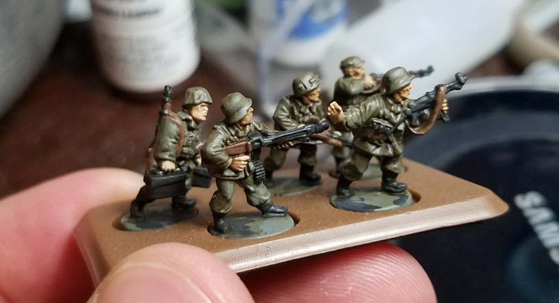 Flames of War Open Fire!: German Panzer Grenadier Infantry