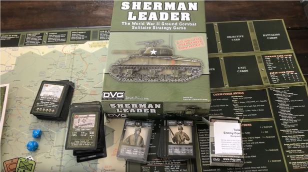Sherman Leader Capture