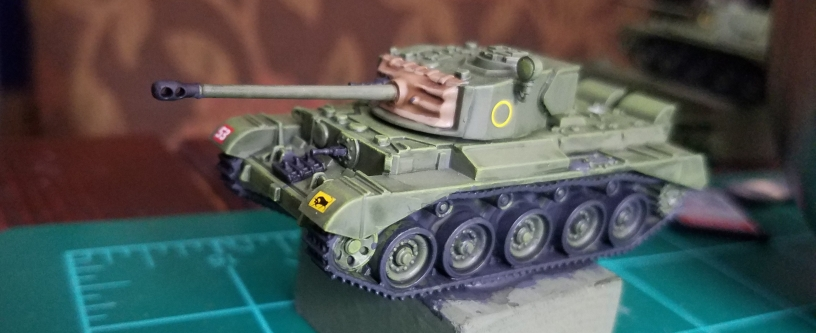 Flames of War: British Comet Assembly and Painting – The