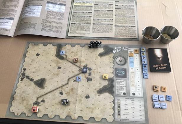 Attack of the 50 Foot Colossi Setup Scenario 1
